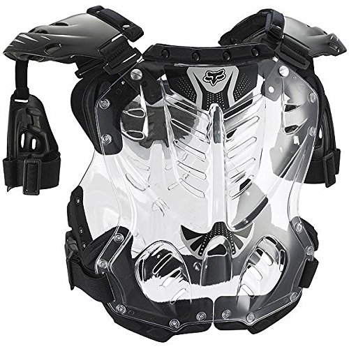 Chest Protector Fox - FOX R3 ROOST DEFLECTOR BLACK MD 85-150+ LB/ 5'2
