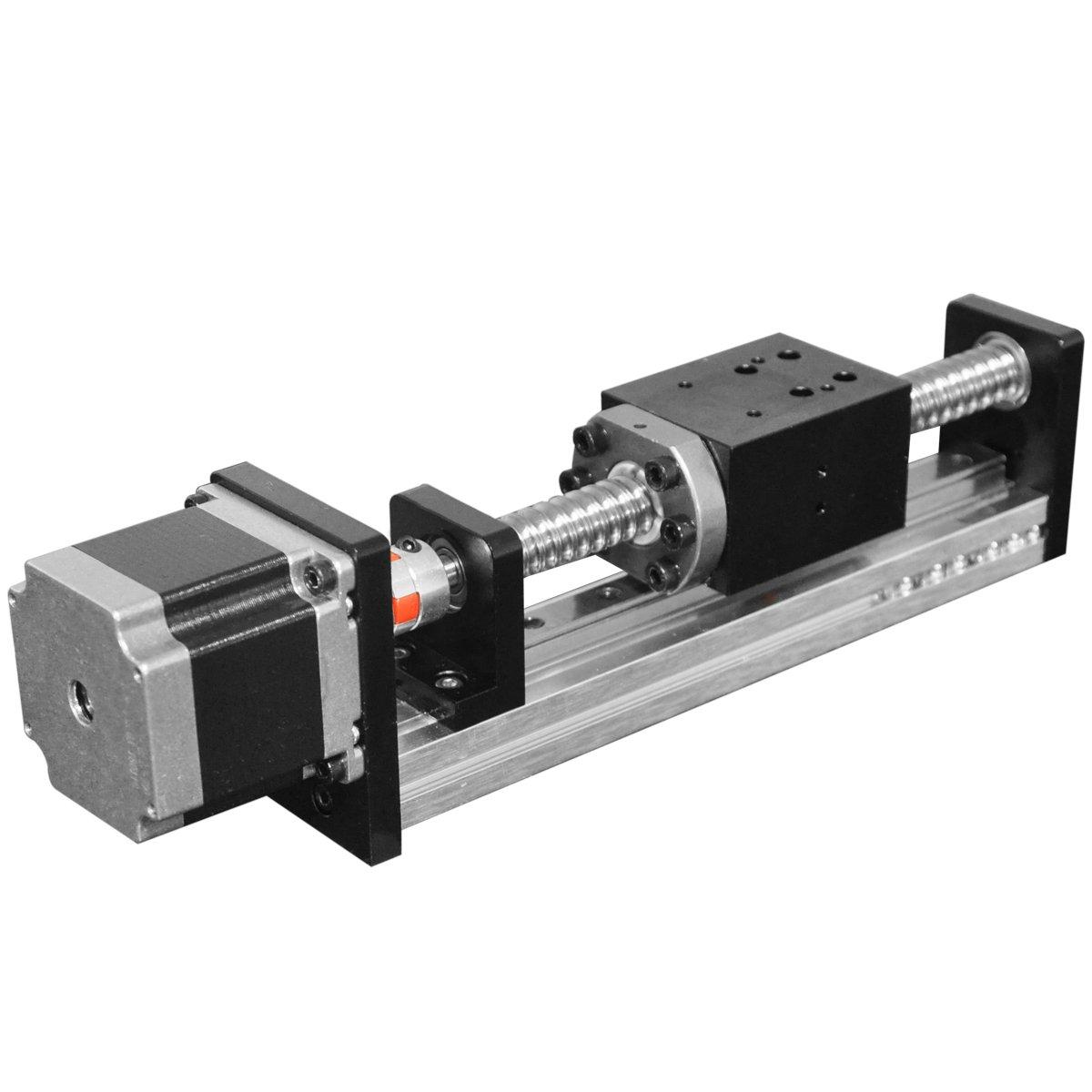 FUYU FLS40 Linear Guide Slide Table Ball Screw Motion Rail CNC