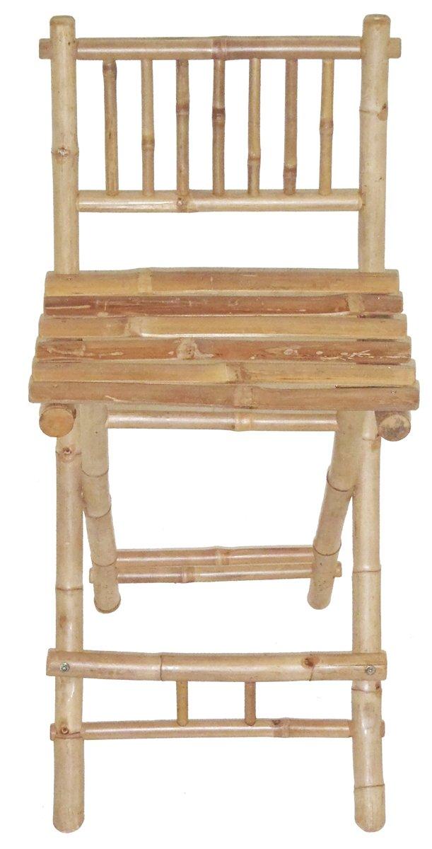 Amazon.com: Foldable Bamboo Stool: Kitchen & Dining