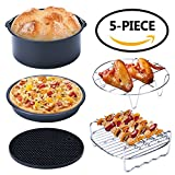 AsianiCandy Air Fryer Accessories Set of 5, for Gowise Phillips and Cozyna Air Fryer 3.7QT 5.3QT, 7 inches