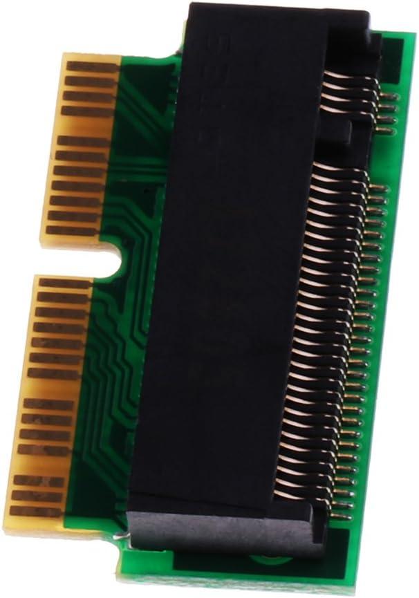 16pin Zu M.2 NGFF M Key SSD Konverter F/ür MacBook Rro Retina A1502 Gazechimp 2X 12