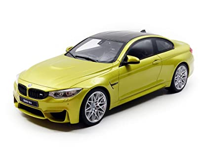 Bmw M4 Competition Package Austin Yellow 1 18 Model Car By Gt Spirit Gt164