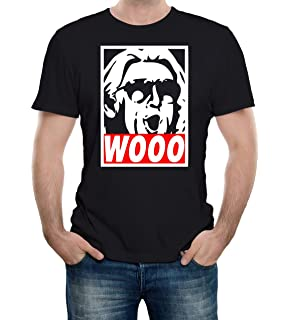 a0544fca Amazon.com: WWE Mens RIC Flair Shirt – The Nature Boy Wooooo ...