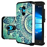 Jitterbug Smart (5.5') Case, Linkertech [Shock Absorption] Heavy Duty Defender Dual Layer Protector Hybrid Case Cover For Jitterbug Smart (5.5inch) (B-5)