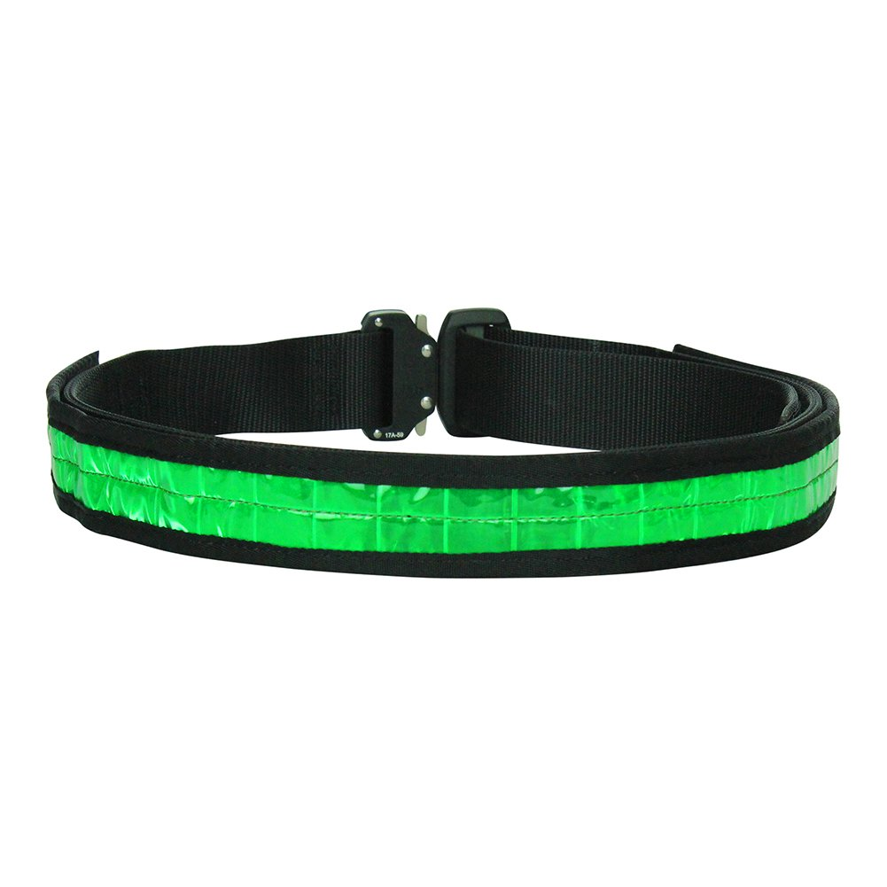 "Fusion Tactical Military Police High Visibility Reflektierende Gürtel Generation II Typ A Neongrün Medium 33-38"" 1.75"" Wide"