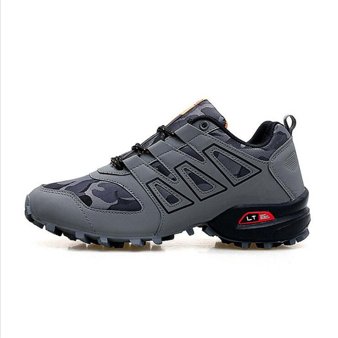 Amazon.com: Men 3 Casual Shoes Black Red White Solomons Comfortable Breathable Shoes: Clothing