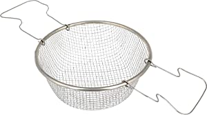 Basket for Frying - 7.87 Inch - Fry Basket with Handle - Deep Frying Basket