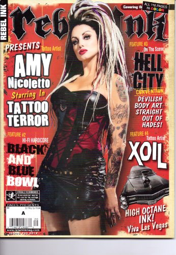 REBEL INK Magazine. 116 Pages in Color. #20. -