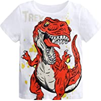 Camiseta Estampada Dinosaurio para bebé niños, Camiseta Manga Corto Bebes niños niñas Camisa de Animal Tops