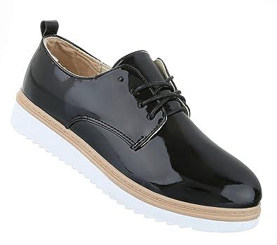 Damen Schuhe Halbschuhe Business Schnürer Beige 39 GEoAwyTZA