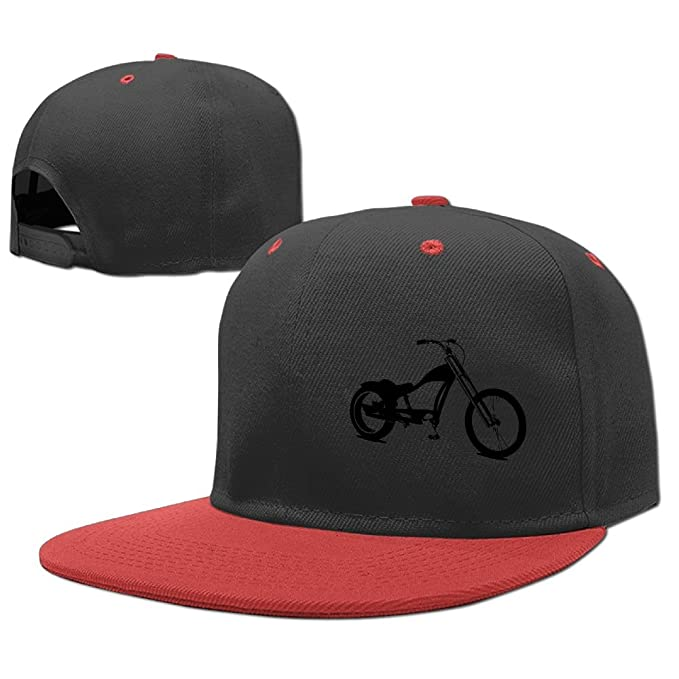 ccc0b1dd32f MKASWbjias-id Lowrider Bike Cotton Classic Plain Baseball Cap Unisex Cotton  Hat for Men