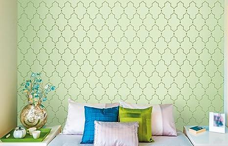 Buy Asian Paints Royale Play Wall Fashion Minarets Stencil