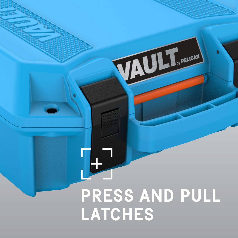 Pelican Vault Pistol Case with Foam (V100, V200, V300, V550, V600)