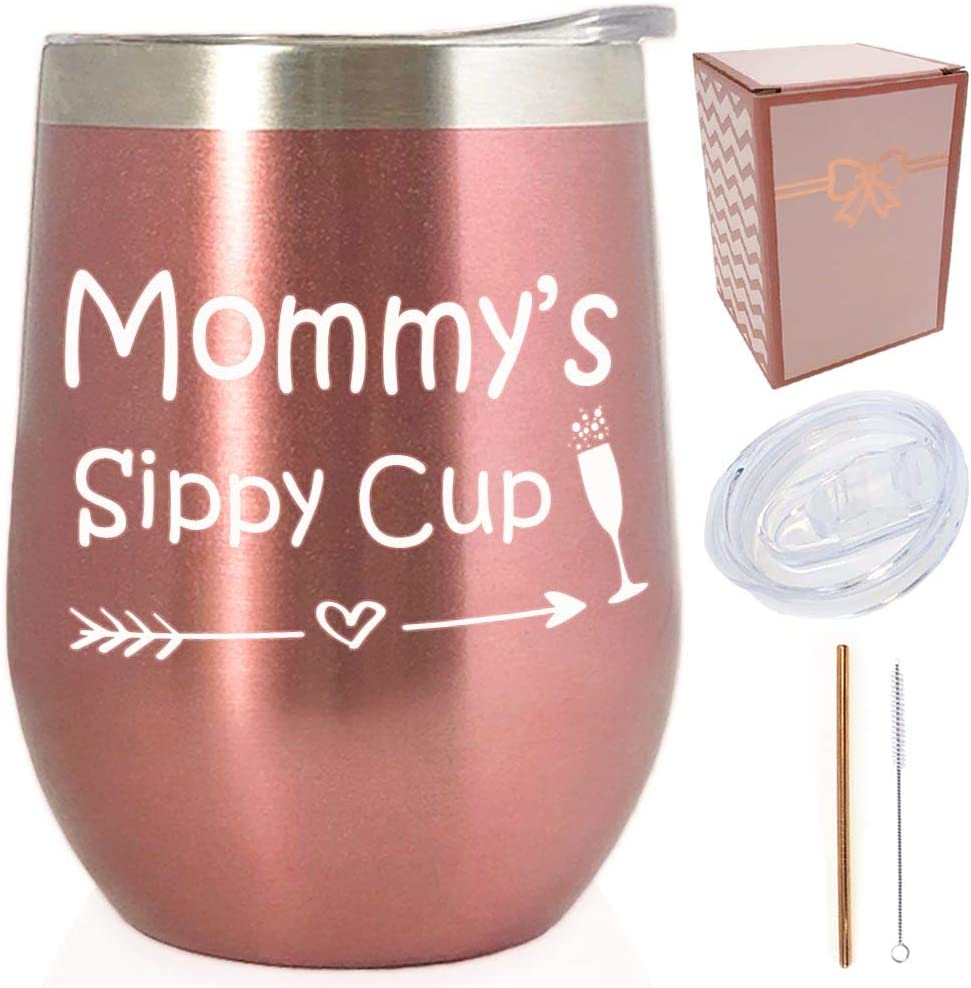 Sarcastic Stainless Steel Water Bottle Humorous Mommy/'s Sippy Cup Parent Funny