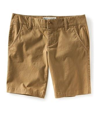 Aeropostale Womens Bermuda Twill Casual Chino Shorts   Amazon.com