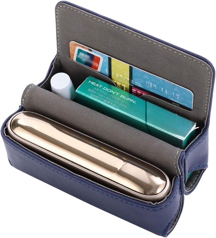 Gute Qualit/ät PU Leder Zigarettenetui H06 nur Tasche DrafTor E Zigarette Tasche f/ür IQOS 3.0