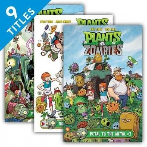 Plants vs. Zombies Set 2: Boom Boom Mushroom/ Garden Warfare/ Petal to the Metal