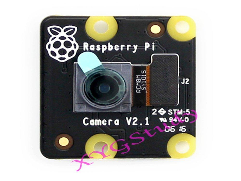 RPi NoIR Camera V2, Official Raspberry Pi Infrared Night Vision Camera Module V2.1 IMX219 8-megapixel sensor 3280 × 2464 1080p30 for NEW Raspberry Pi 3 2 Model B B+ @XYGStudy