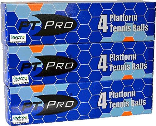 PT/PRO Platform Tennis Balls 12 count (Apta Platform Tennis)