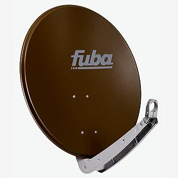 Fuba DAA 650 B - Antena (10.75-12.75 GHz, 650 mm, Marrón, Aluminio)