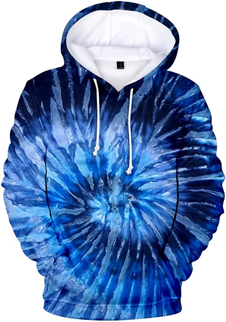 Men Jacket Pullover,Vickyleb Unisex Teen Smiling Face Fashion Print Hoodie Sweatshirt with Drawstring Hooded