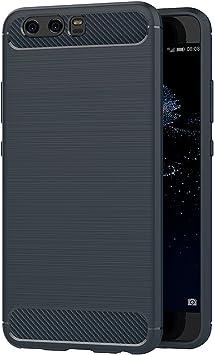 AICEK Coque Huawei P10, Bleu Silicone Coque pour Huawei P10 Housse ...