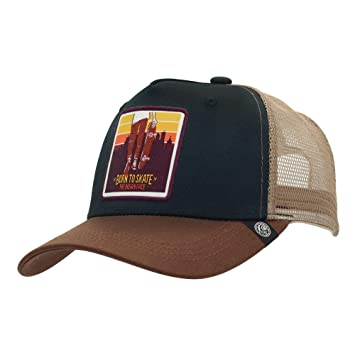 The Indian Face Gorra Trucker Born to Skate Hombre y Mujer, Color ...
