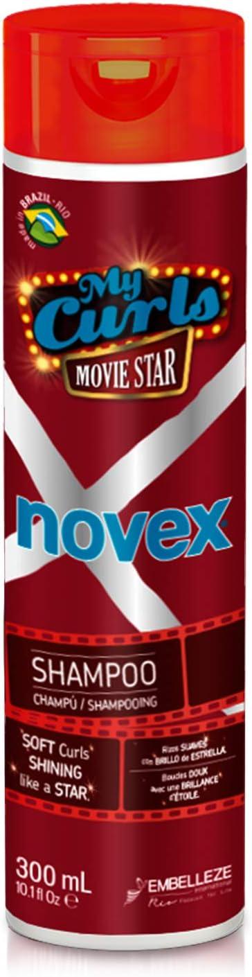 Novex Mis Rizos de Cine Champú 300mL - My Curls Movie Star - Embelleze