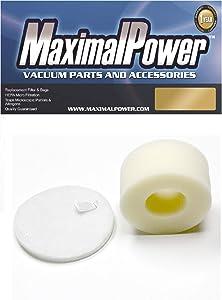 MaximalPower Shark NV600 Foam & Felt Filter Kit Replacement Vacuum Filter
