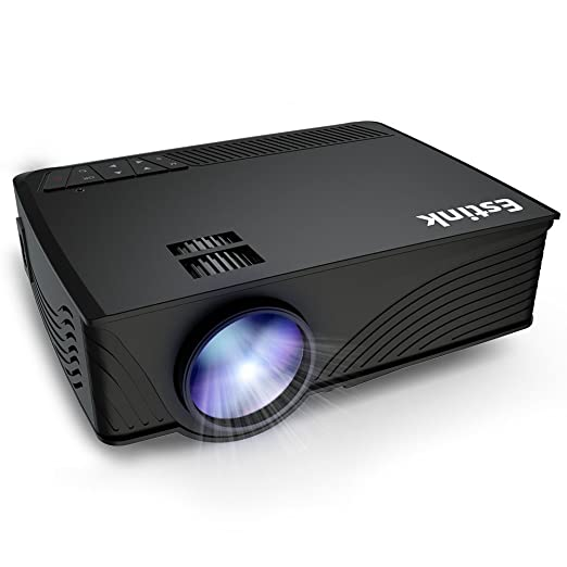 Video Proyector HD 1080P Mini Proyector LED 1200 Lúmenes 800*480 ...