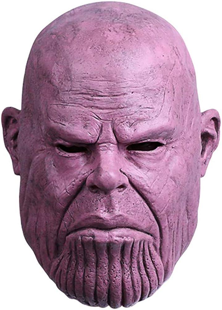Marvel Avengers Endgame Nebula Mask Cosplay Superhero Woman Full Head Mask Props