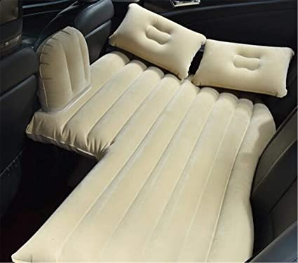 Flocking Cloth Car Back Seat Cover Air Mattress Travel Bed Inflatable Mattress Air Bed Inflatable Bed Travel Kit Camping Mat Sports & Entertainment Camping & Hiking
