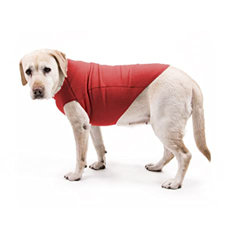 My Canine Kids Fleece Dog Sweater Best Dog Fleece Pullover Stretch Sweater  for Dogs Jumper Cozy Warm Cold Weather