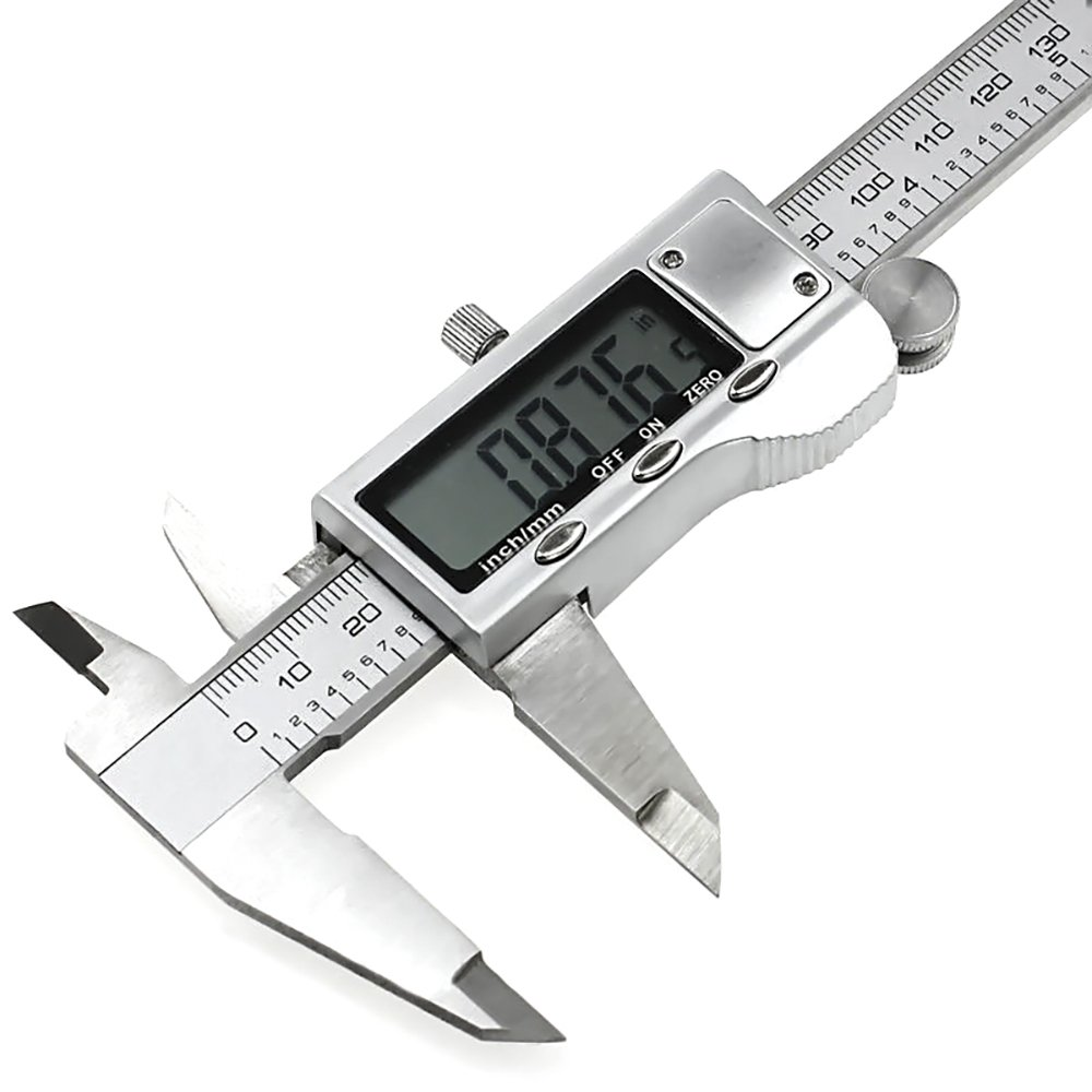XYXDI 150mm/6-inch Stainless Steel Electronic Digital Vernier Caliper Micrometer by XYXDI (Image #5)