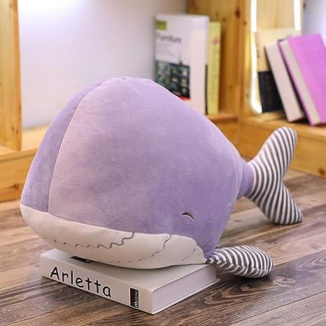 Amazon.com: Almohada de peluche suave de animal de mar para ...
