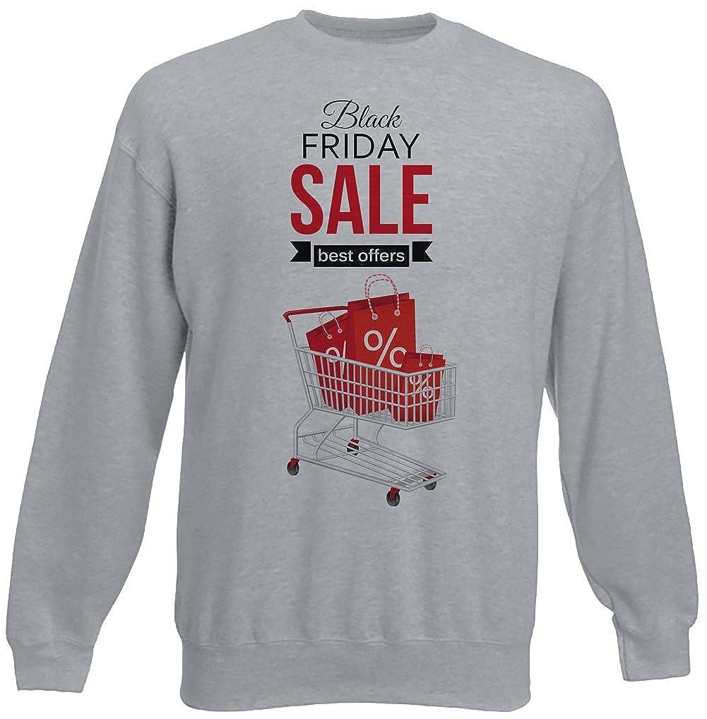 Black Friday Sale Hombre Sudadera Jersey Pullover Gris Todos Los Tamaños | Mens Sweatshirt Jumper Pullover Grey: Amazon.es: Ropa y accesorios