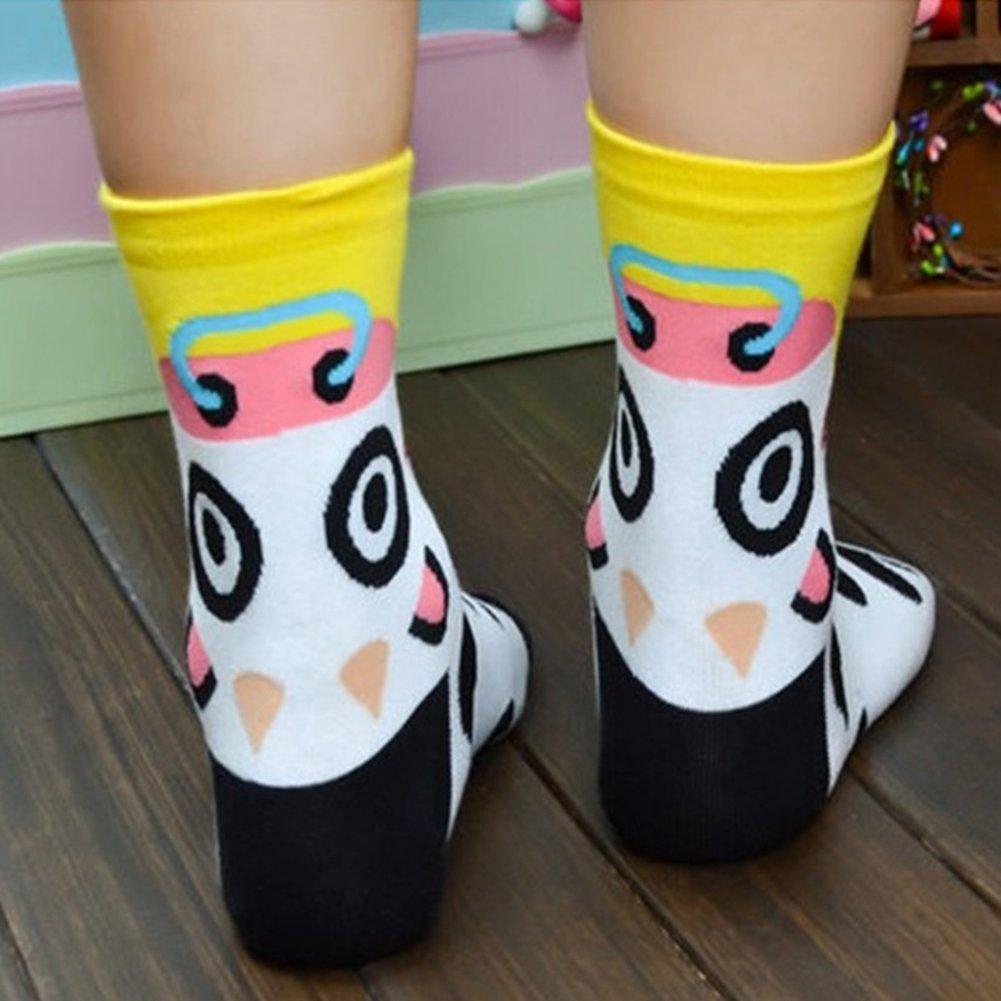 Calcetines de Algodón de Mujers - Bakicey calcetines térmicos Adulto Unisex Calcetines (Tigre Casual): Amazon.es: Deportes y aire libre