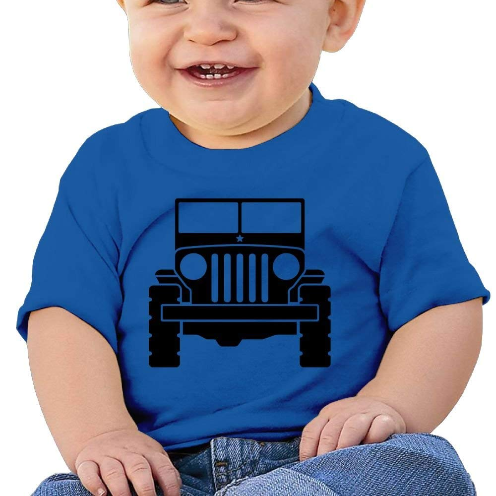 Cute Short Sleeves Tshirt Jeep 6-24 Months Baby Boy Toddler
