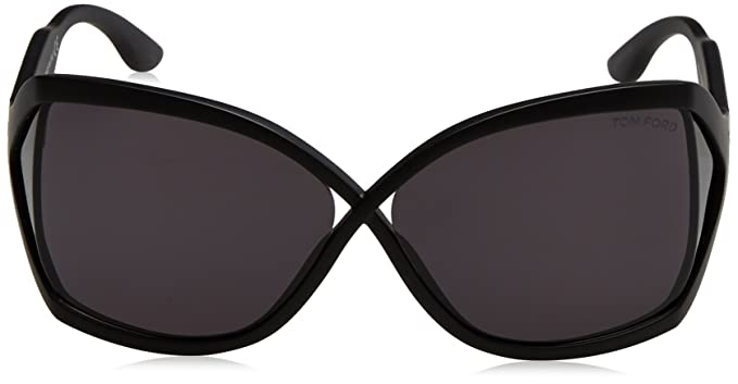 4138f08dbd7c5 Sunglasses Tom Ford 427 Black Square at Amazon Men s Clothing store