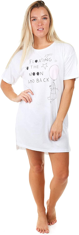 Disney Winnie Moon Sleep T-Shirt Camicia da Notte Donna