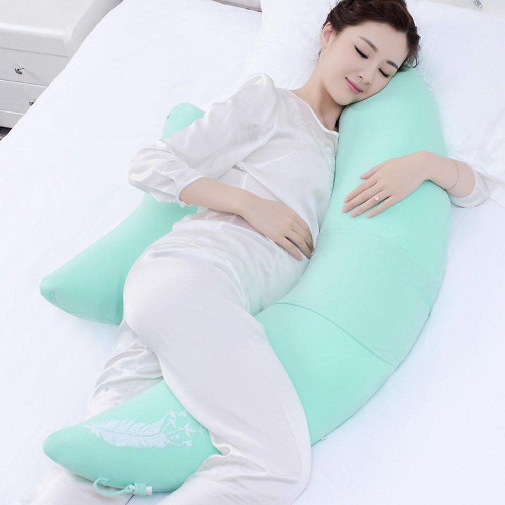 JGXVUYKDFV Damen-Kissen/multifunktionale Kissen für Schwangere Frauen/gürtel Kissen/Side Sleeping Kissen/Belly Kissen/GEH ins Bett,Seite,Kissen-A