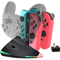 Switch JoyCon Charger 5 in 1 Charging Dock for Switch Joycon