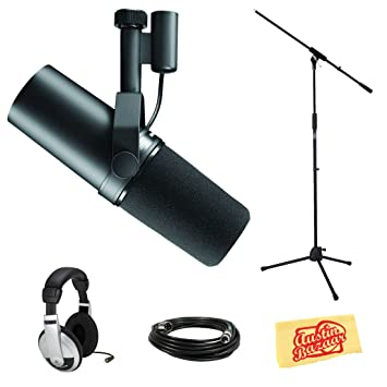 Shure SM57 Boom Stand and Cable Bundle: Amazon co uk: Musical