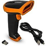 Leitor Scanner Código Barra Laser Sem Fio Wireless USB