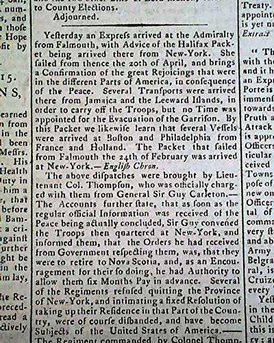 agreeing-to-peace-american-revolutionary-war-ending-1783-old-british-newspaper-drewrys-derby-mercury