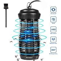 DEKINMAX Lampara Antimosquitos 6W, Bug Zapper con Luz