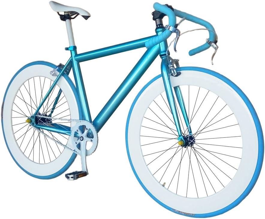 Helliot Bikes Fixie Nolita 59 Bicicleta Urbana, Hombre, Azul, Talla Única: Amazon.es: Deportes y aire libre
