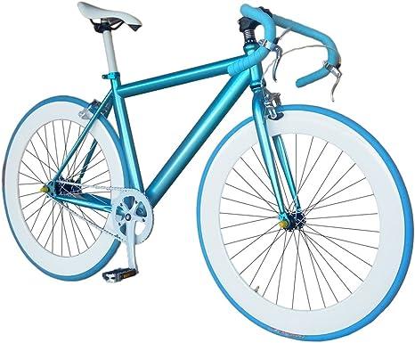 Helliot Bikes Fixie Nolita 59 Bicicleta Urbana, Hombre, Azul, Talla ...