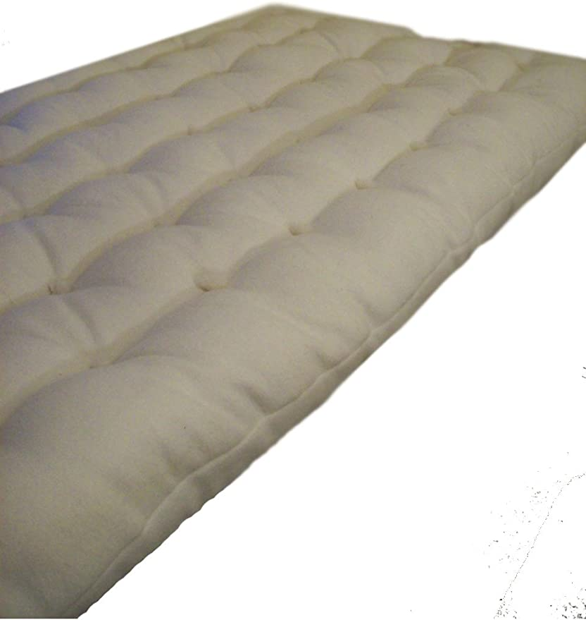 Kellygreenorganic Eco Wool Futon Mattress King Size Amazon Co Uk Kitchen Home