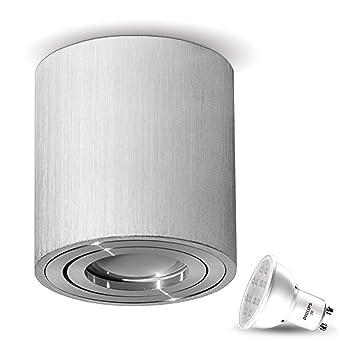 Lámpara de techo plafón Aufputz Milano 5 W LED Philips ...